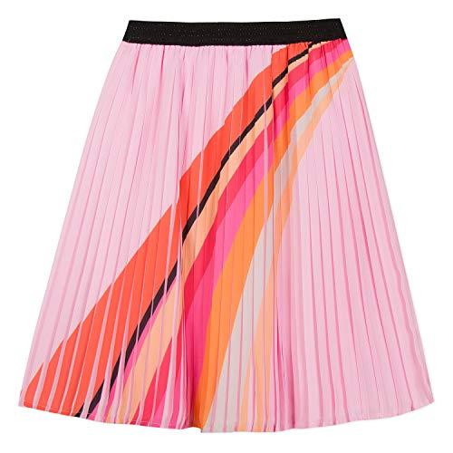 - Catimini Pretty Pink Pleated Rainbow Skirt (12)