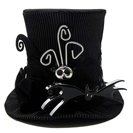 2d27d70760159 Amazon.com  Disney Nightmare Before Christmas Jack Skellington MINI Top Hat  - Theme Parks Exclusive   Limited Availability by Disney  Toys   Games