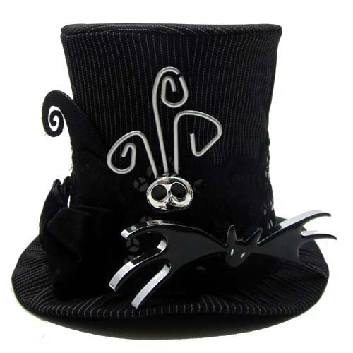 Jack Skellington Top Hat (Disney Nightmare Before Christmas Jack Skellington MINI Top Hat - Theme Parks Exclusive & Limited Availability by Disney)