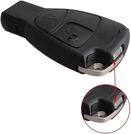 Image ofLianLe 2 Botón Funda Mando Llave vehiculos para Mercedes