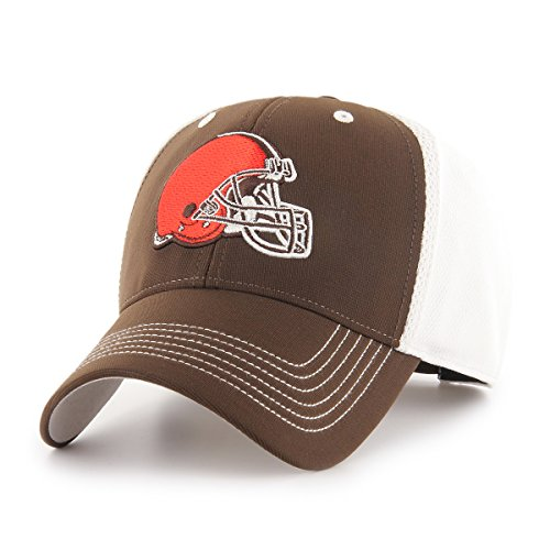 NFL Cleveland Browns Sling OTS All-Star Adjustable Hat, Brown, One (Cleveland Browns Cap)