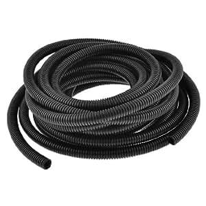 Sourcingmap a13101800ux0003 - 14,5 mm de aislamiento de plástico interior de diámetro de alambre corrugado tubo tubo de 10m