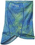Columbia Men's Freezer Zero II Neck Gaiter, Moisture Wicking Fabric, UV Sun Protection, Small/Medium, Hyper Blue Realtree MAKO