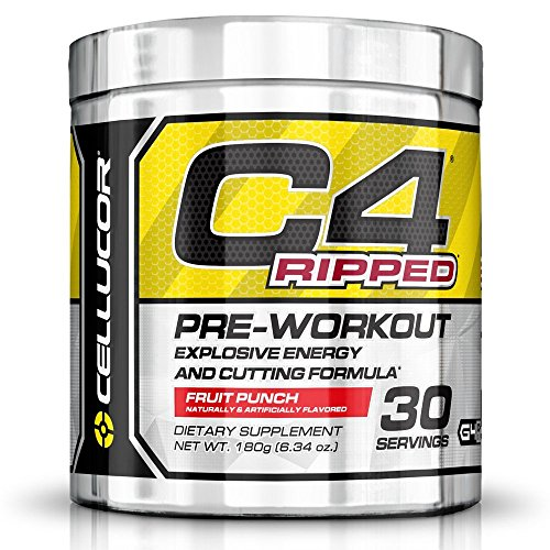 - C4 Ripped Fruit Punch - Cell ucor 30 Servings