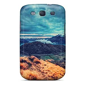 Shock-dirt Proof View Of A Gorgeous Lscape Case Cover For Galaxy S3