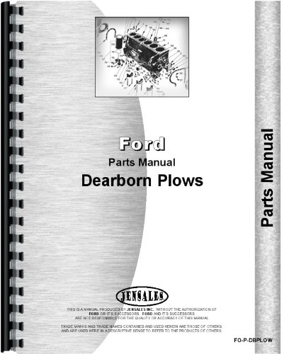 Read Online Dearborn 10-16A Plow Parts Manual pdf epub