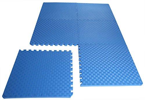 BalanceFrom Extra Thick Puzzle Mat EVA for Gymnastics and Flooring