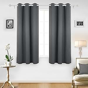 Deconovo Room Darkening Thermal Insulated Grommet Blackout
