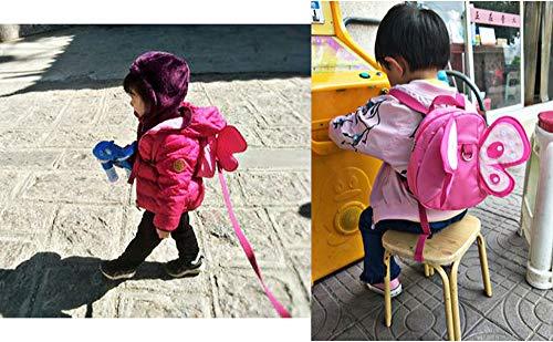 Baby BTSKY Schmetterling mit Fl/ügeln Laufgeschirr Sicherheitsgurt Kind Rucksacktasche Kleinkind Z/ügel