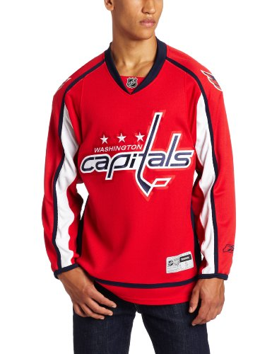 NHL Washington Capitals Premier Jersey, Red, Small