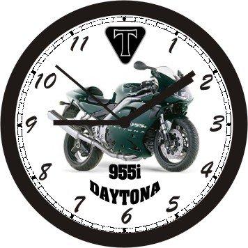 MOTORCYCLE WALL CLOCK- FREE USA SHIP! ()
