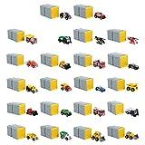 Tonka Tiny Vehicles in Blind Garage (styles may vary)