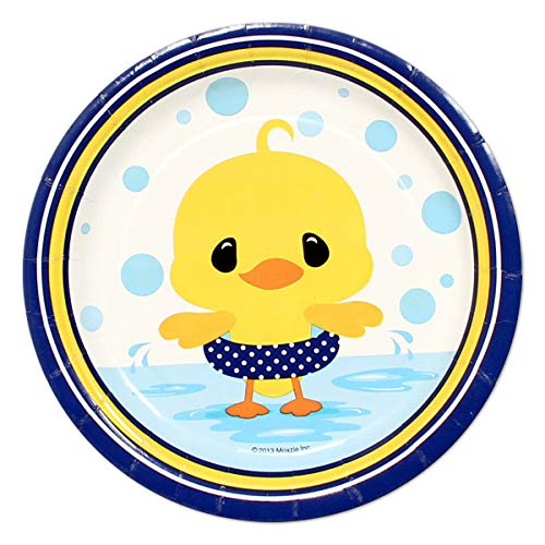 Little Ducky 24 Count 7 inch Birthday Party Dessert Plates