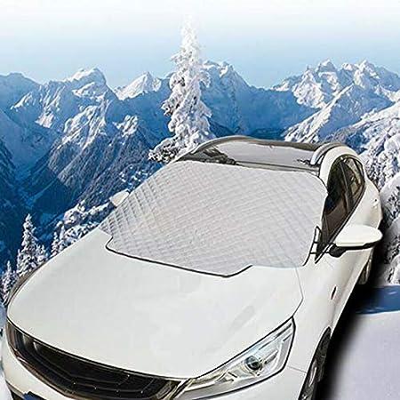 Magnetische Auto Windschutzscheibe Schnee Frostschutz Winter Eis Schnee Frostschutz Sonnenschutz Sonnenschutz Windschutzscheibe Eis Schnee Abdeckung 183 116cm Auto