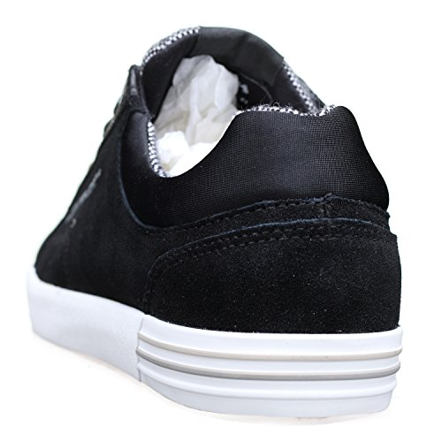 Pepe Jeans London Herren North Mix Sneaker Schwarz (Black 999)