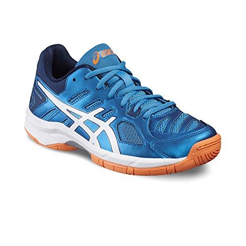 Asics Gel-Beyond Junior Zapatillas Indoor - SS17 BLUE JEWEL/WHITE/HOT ORANGE