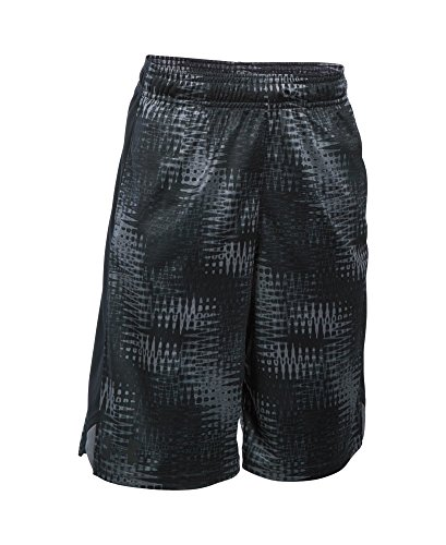 Under Armour Boys' Eliminator Printed Shorts, Graphite (044), Youth Medium
