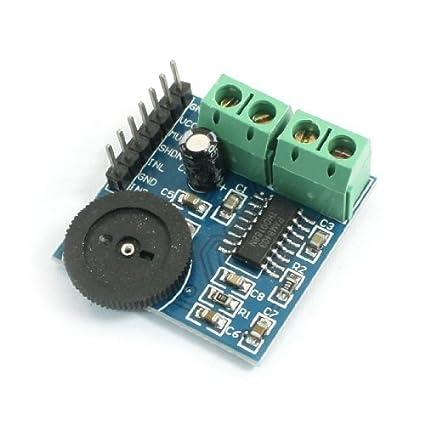 PAM8403 Ajuste de volume 2CH Classe D Áudio Módulo Amplificador de Potência