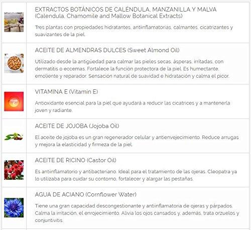 Alma Secret Desmaquillante de Ojos Suave con Provitamina B5, Flor de Aciano & Jojoba - 150 ml: Amazon.es: Belleza