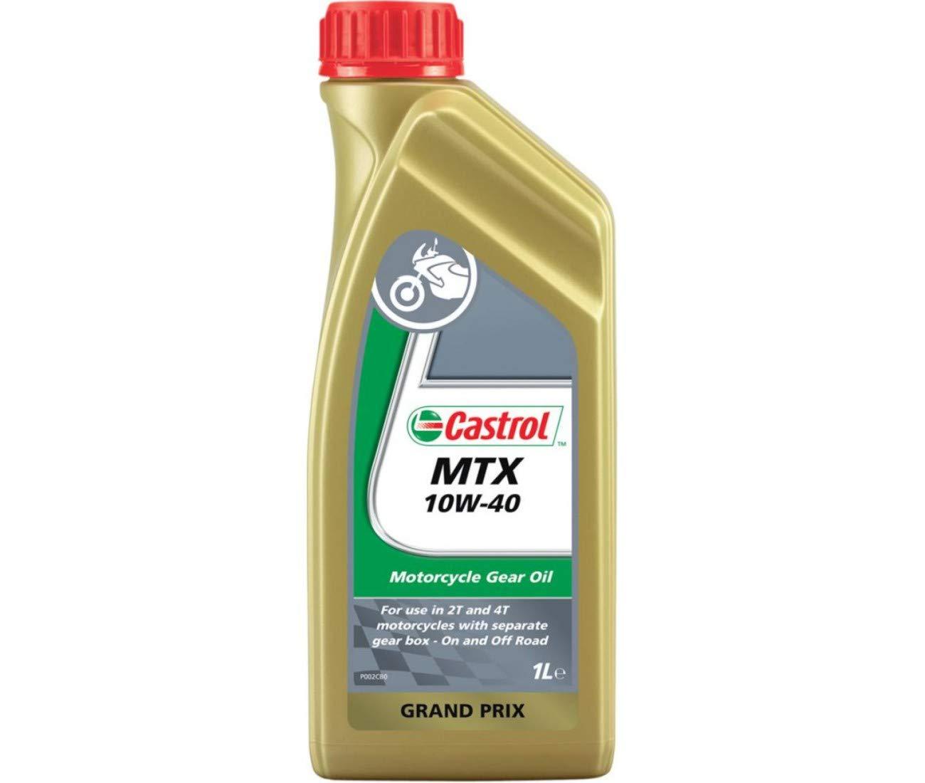 Aceite de recinto MTX 10 W-40 Mineral 1 litro castrol-9343500 ...