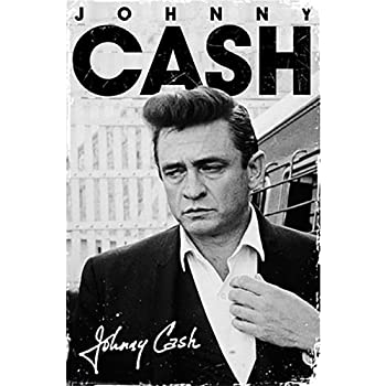 Poster service johnny cash signature poster 24 inch by 36 inch