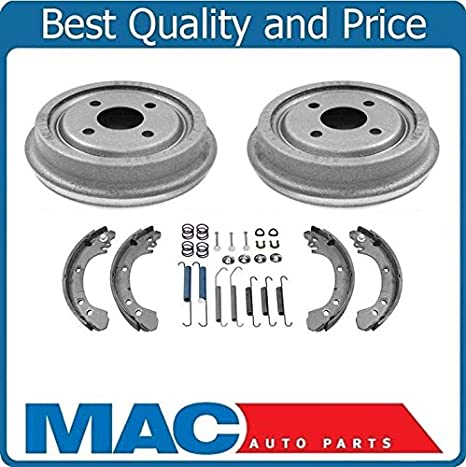 1996 Fits Saturn SL1 Rear Drum Brake Shoe With Two Years Warranty 4 Pieces Included For Both Left and Right
