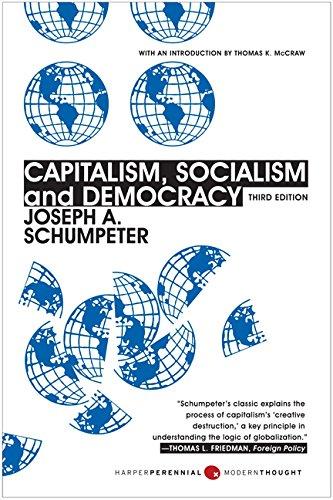 Capitalism Socialism Democracy Joseph Schumpeter product image