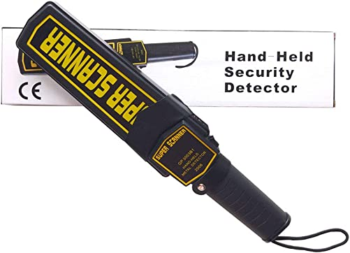 Handheld Metal Scanner Detector Security Wand Pinpointer