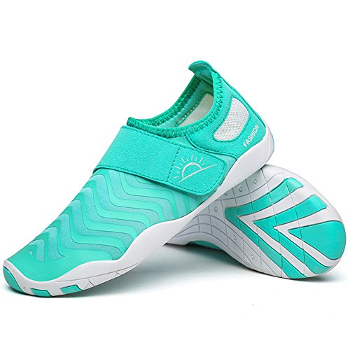 L-RUN Athletic Shoes for Ladies Ventilation Amphibious Comfortable Light Blue S(W:5.5-6)=EU 35-36