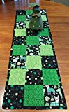 Lucky Dog Quilted St. Patrick's Day Table Runner - Pot of Gold Ready and Free Shipping!