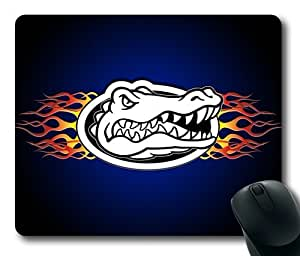 NCAA Florida Gators Fire Logo Rectangle Mouse Pad by eeMuse