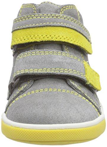 Richter Kinderschuhe Sing - zapatillas de running de cuero Bebé-Niñas Gris - Grau (rock/pineapple  6101)