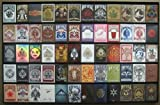 The Playing Card Frame - 60 Deck Acrylic Playing Card Display by Collectable Playing Cards by Collectable Playing Cards