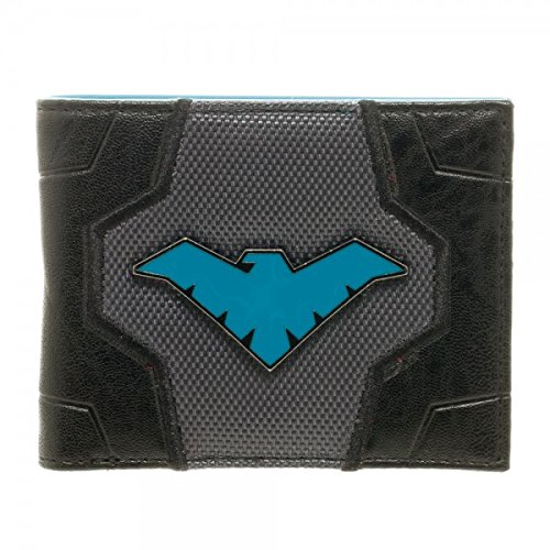 Authentic Nightwing Costumes (DC Comics Nightwing Suit Up Bifold Boxed Wallet)