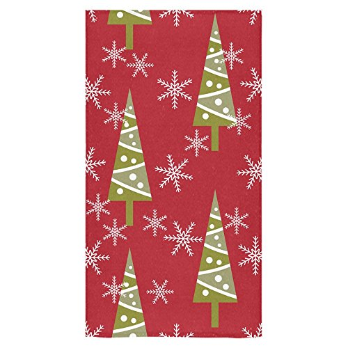 Xmas Christmas Tree and SnowflakeBeach Bath Towels Bathroom Body Shower Towel Bath Wrap For Home Outdoor Travel Use 30  x 56  Inche. Christmas Classic Movies   Page 325