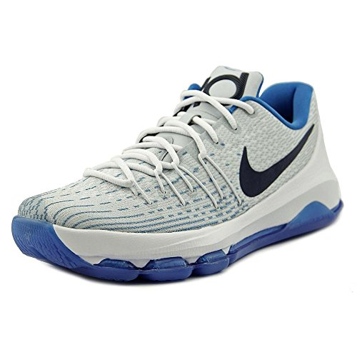 Boys' NIKE White Basketball 8 GS KD Shoes tgqvwg