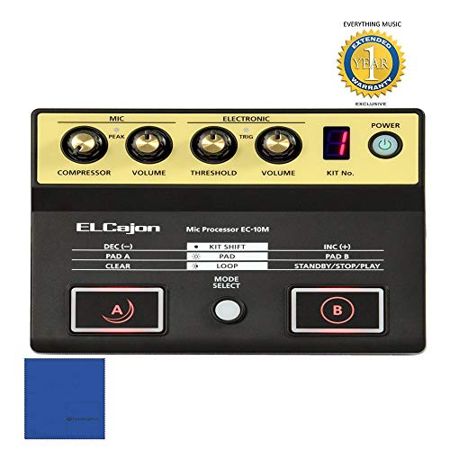 Roland EC-10M El Cajon Mic Processor with 1 Year Free Extended - Processor Microphone