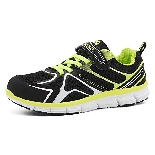 Snuoen Kids Shoes Toddler Boys Girls Velcro Running Shoes Casual Light Weight (Velcro Running Shoes)