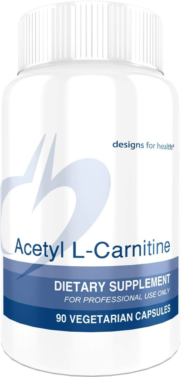 Designs for Health Acetyl L-Carnitine Capsules 800mg – Extra Strength Acetyl L-Carnitine HCl 90 Capsules