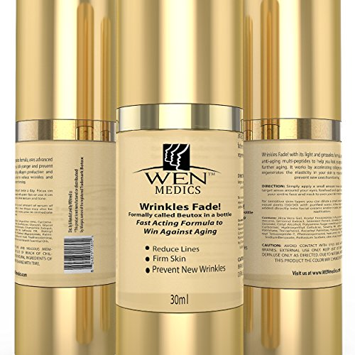The Best Anti Wrinkle Serum Wenmedics Wrinkles Fade Formerly Called Botox In A Bottle 30ml Anti Aging Face