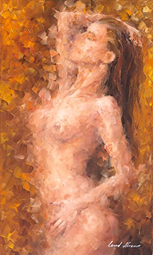Nude Woman Art Erotic Oil Painting On Canvas By Leonid Afremov - The Nature Of ()
