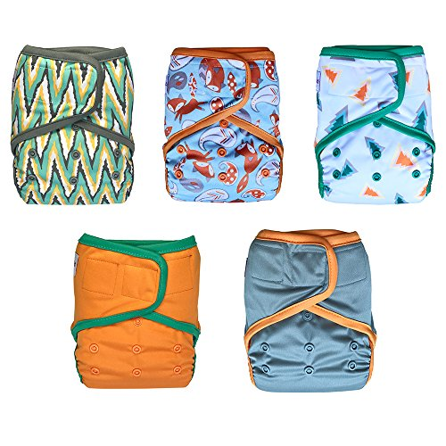 EcoAble Diaper 5 pack inserts 15 35lb product image