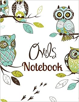 Book Notebook (Large Owl Notebooks for School) (Volume 5) by Creative Learning Tools (2015-04-07)