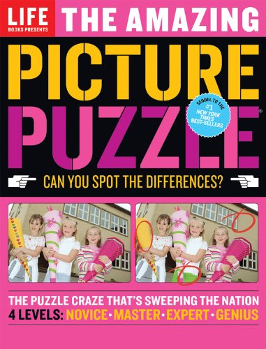 picture puzzle books spot the difference