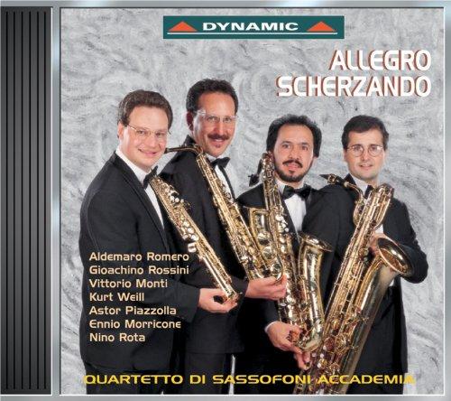 Allegro Scherzando: Music for Saxophone Quartet