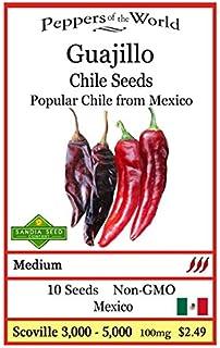 Guajillo Pepper 10 Seeds - Rare and Non-gmo - Easy to Grow