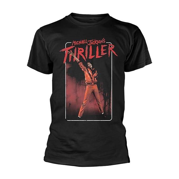 Tee Shack Michael Jackson Thriller Dance Pose Oficial Camiseta para Hombre   Amazon.es  Ropa y accesorios 0447fd0b258f1
