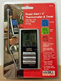 Maverick - Roast Alert 3 - Thermometer & Timer - Now With Color-Coded Screen