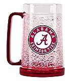 Duck House NCAA Alabama Crimson Tide 16oz Crystal Freezer Mug