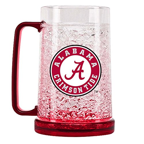 NCAA Alabama Crimson Tide 16oz Crystal Freezer - Alabama Mug